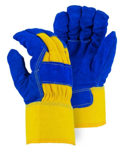 1 Pair Frogwear 8490 Insulated /& Waterproof Blue Tripple Dipped Work Gloves Extra Large Sizes M-XL Chemical /& Oil Resistant Ultra Flexible