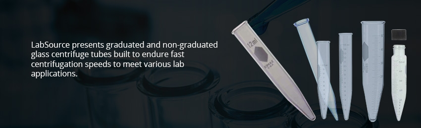 Glass Centrifuge Tubes