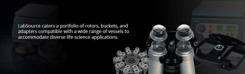 Rotors, Buckets and Adapters